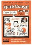 gakbag comic  1988