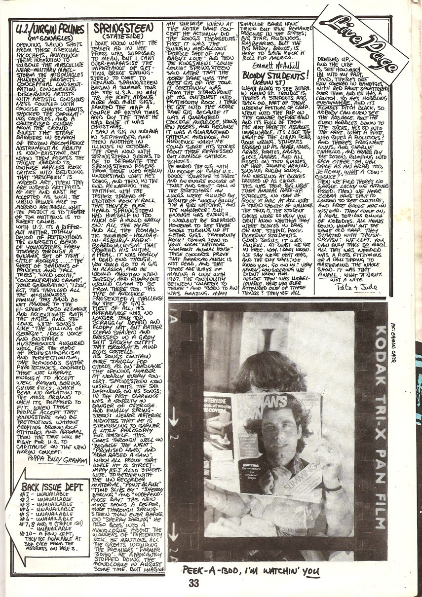 Dublin's Heat 11- 1978 with U2, Boy Scouts & more – Brand