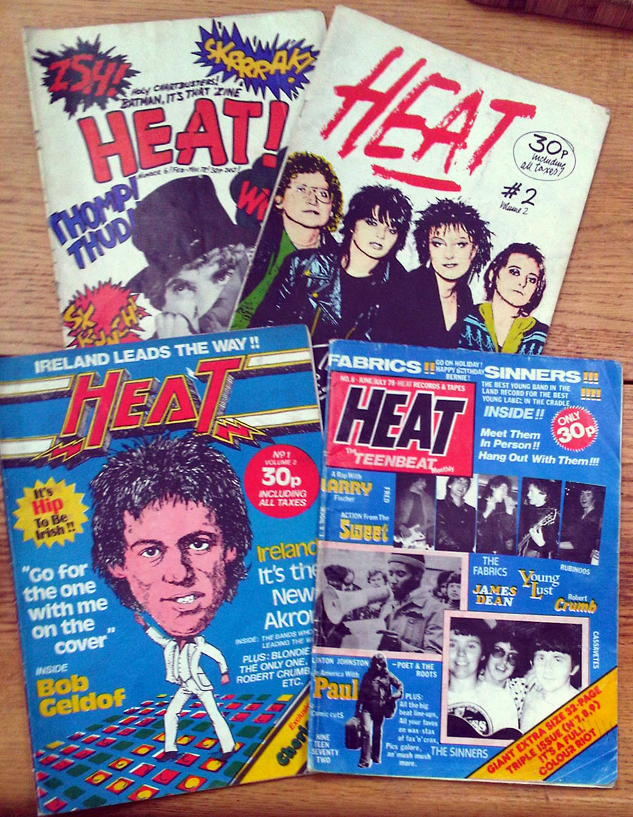 HEAT - Volume 2 - issues 6 to 11 1978