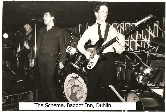 scheme dublin dundalk baggot inn 1980 dc nein