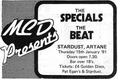 specials beat jan 15 1981 advert