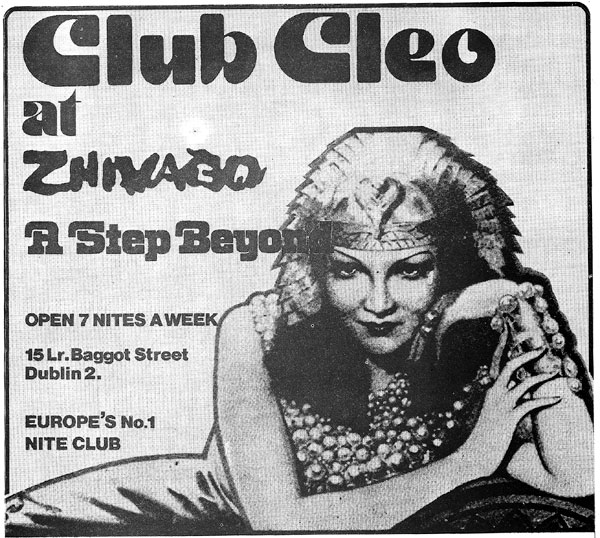 club cleo zhivago dublin 2 nightclub