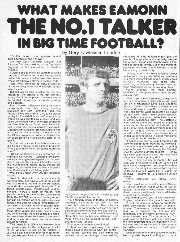 eamon dunphy man alive 2 dublin 1974 p 1 of 2