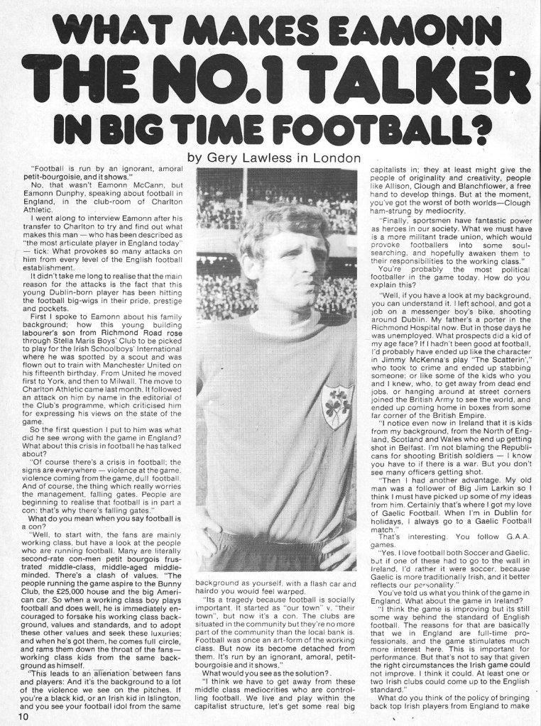 eamon dunphy man alive 2 dublin 1974 p 1 of 2