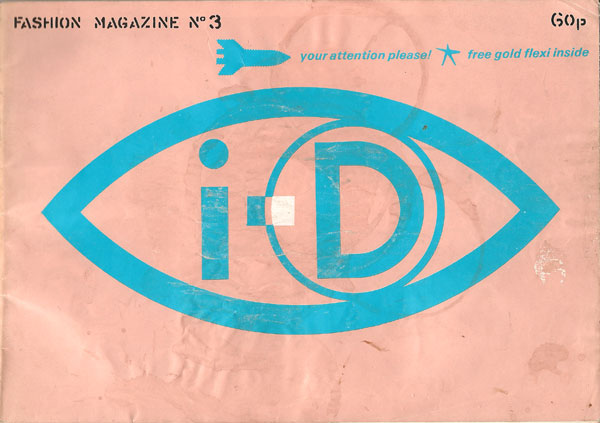 i-D magazine id issue 3 1981 London fashion