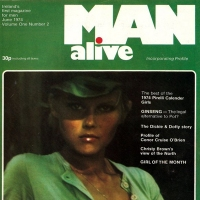 Man Alive - Issue 2 - June 1974 - Men's Fashion