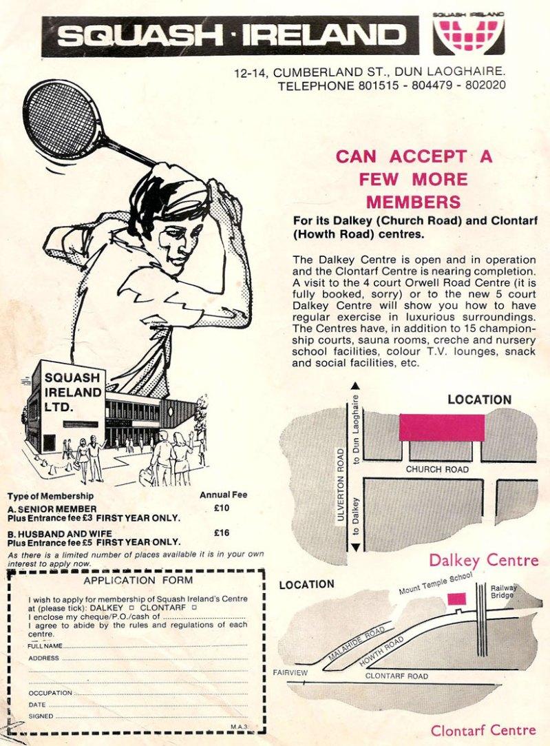 dublin 1974 squashireland