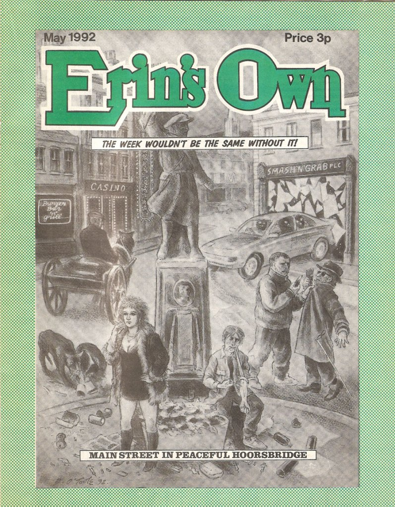 Erin's Own - Yellow Press - Ireland's Own parody 1992