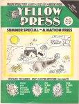 Yellow Press Ireland Comic Magazine 1992 Cover