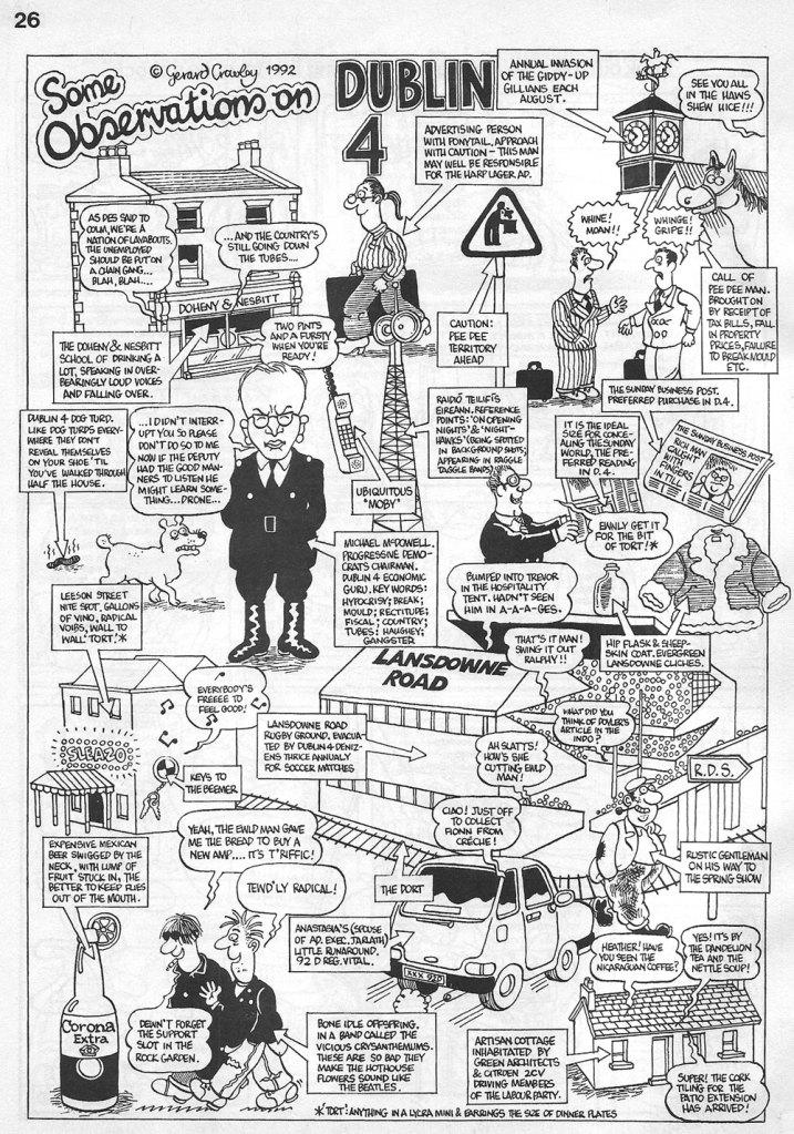 Yellow Press Ireland Comic Magazine 1992 D4
