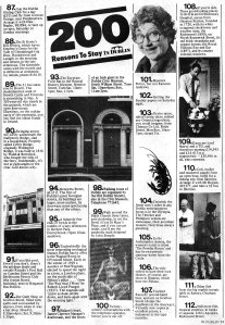 in dublin magazine march 1984 200 reasons to stay in dublin 87_113