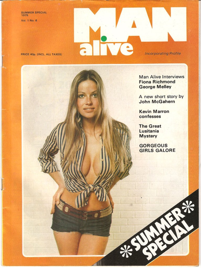 man alive 6 cover summer 1975