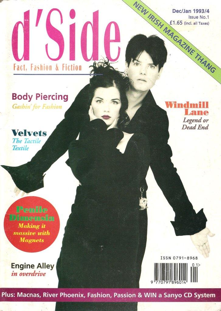 d'Side dSide 1993 Dublin Ireland Style magazine