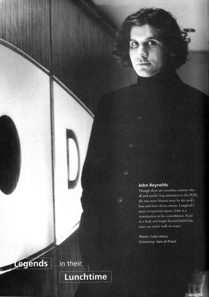 d'Side dSide 1993 Dublin Ireland Style magazine john reynolds pod