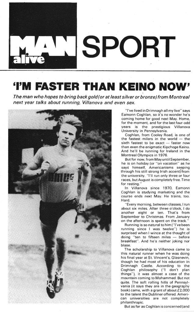 eamonn coghlan 1975 man alive sport