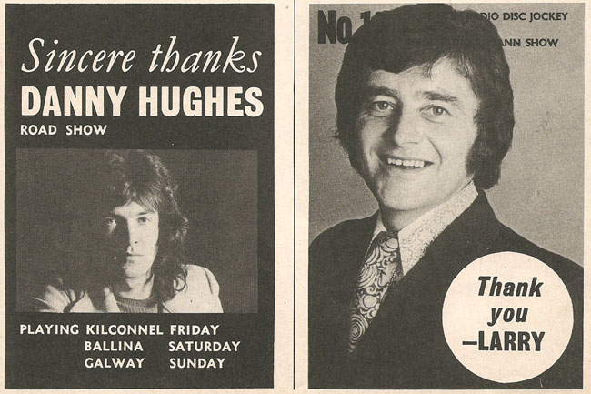 1971 irish djs thanks Advert