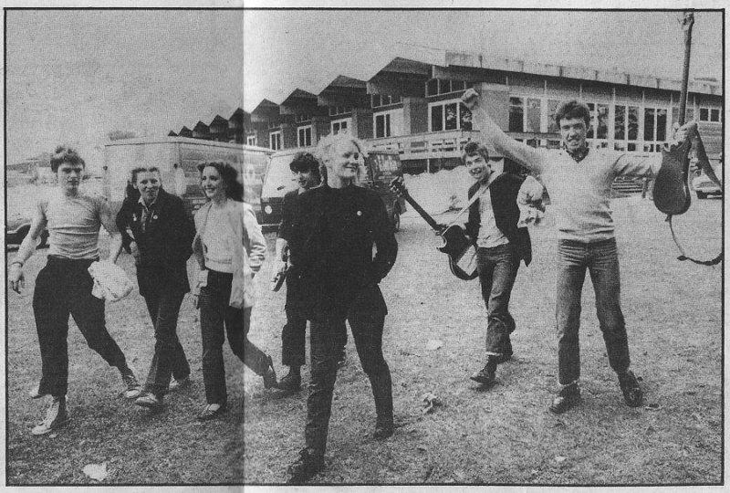 Undertones NME Sep 1979 with girlfriends