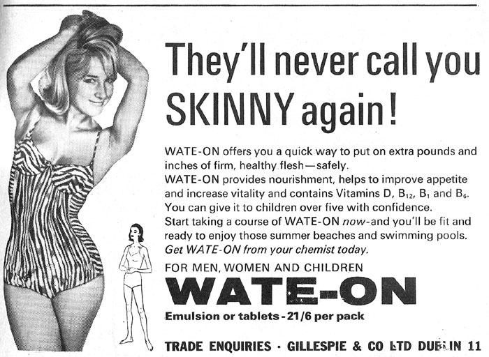 wate-on advert dublin 1966