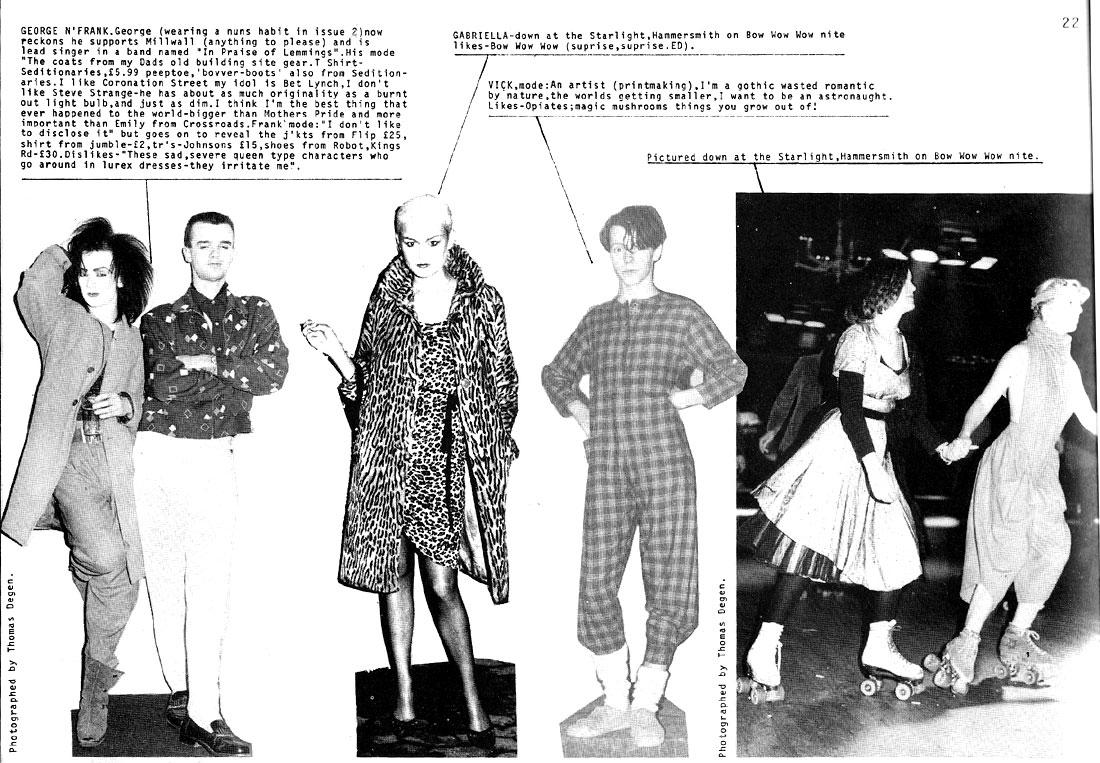 boy george in street style i-d id magazine 1981