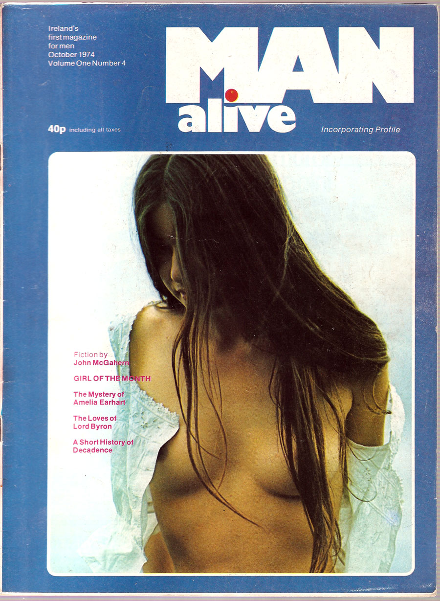 man alive 4 ireland cover october 1974