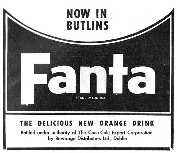 fanta butlins mosney 1962