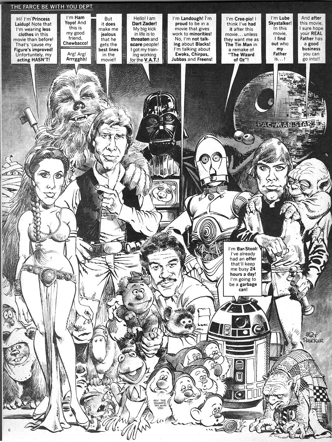 mad star wars cover 259 nov 1983 return of the jedi