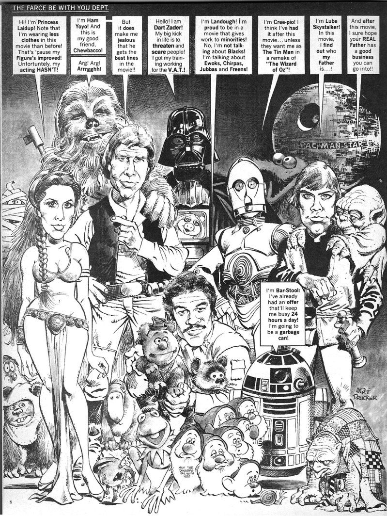 mad star wars cover 259 nov 1983 return of the jedi
