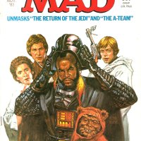 Mad Magazine 1983 - Return of the Jedi