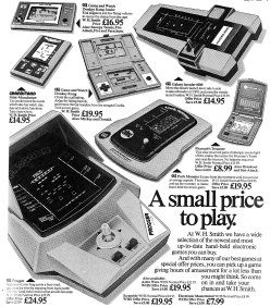 hand held electronic games
