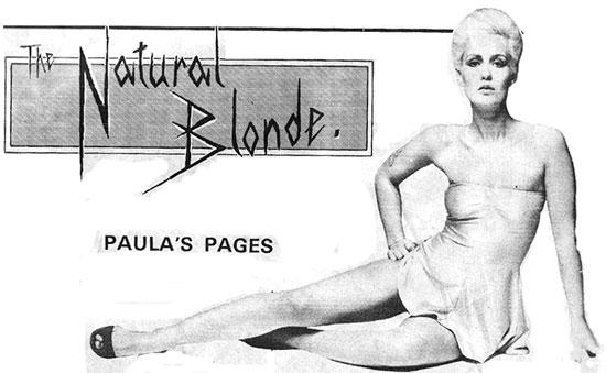 paula yates record mirror 1972