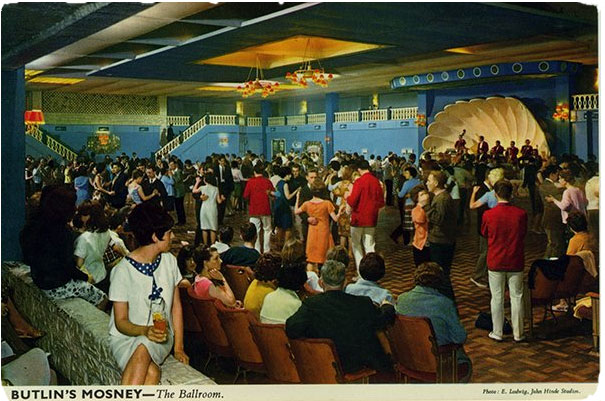 postcard butlins mosney