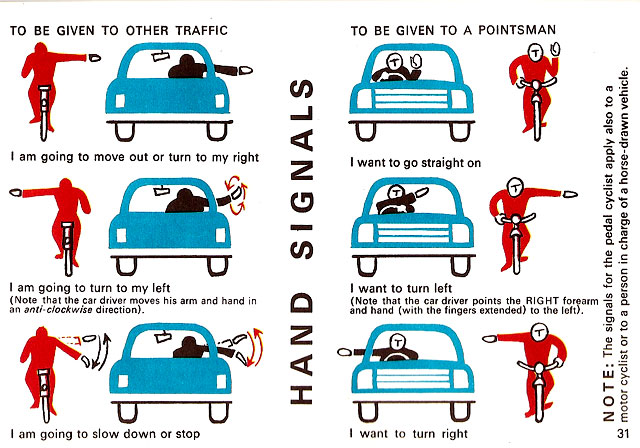 irish rules of the road 1967 ireland signals