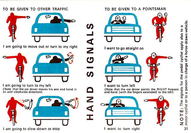 irish rules of the road 1967 ireland signals
