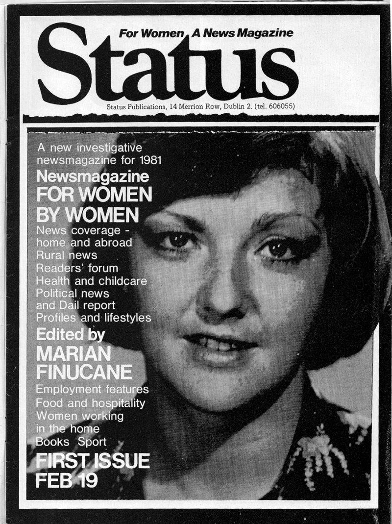 status mag 1981 magill marian finucane