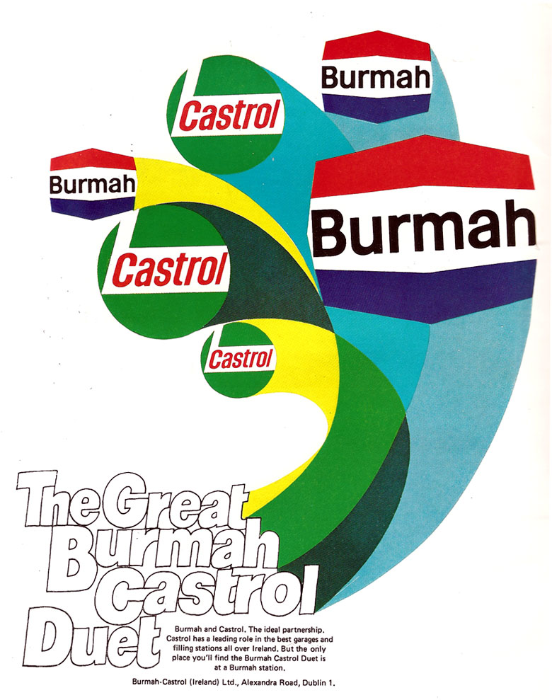 burmah castrol The new oil: castrol print of castrol of as a motor oil lubricant brand began in 1966 when burmah oil bought over to it become renamed burmah castrol.