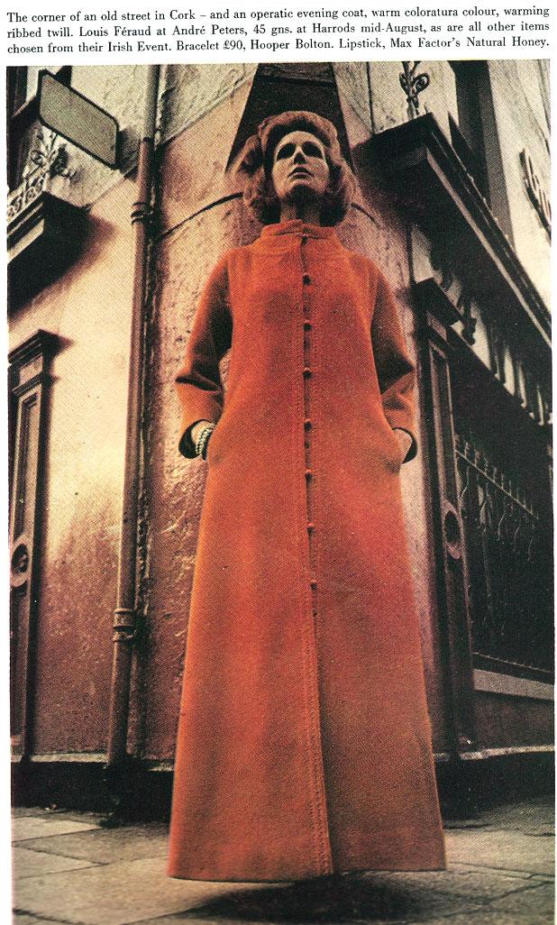 Harpers Bazaar August 1965 cork-corner