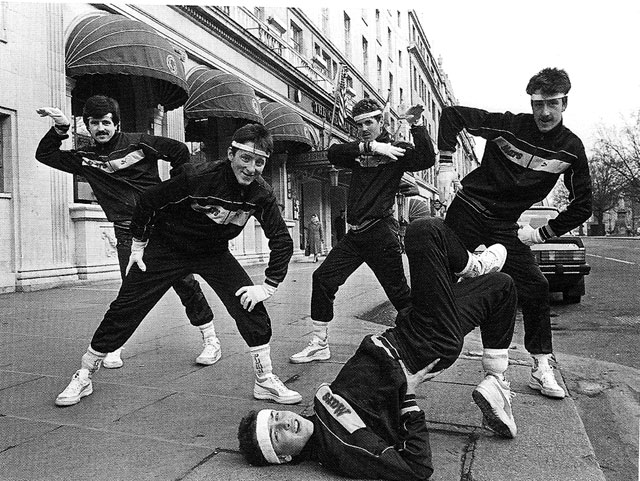 dizzyfootwork oconnel st dublin 1985