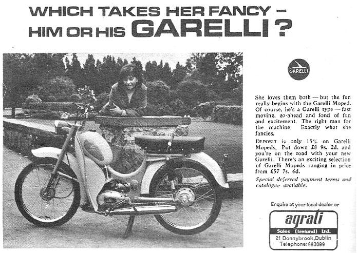 Garelli moped dublin