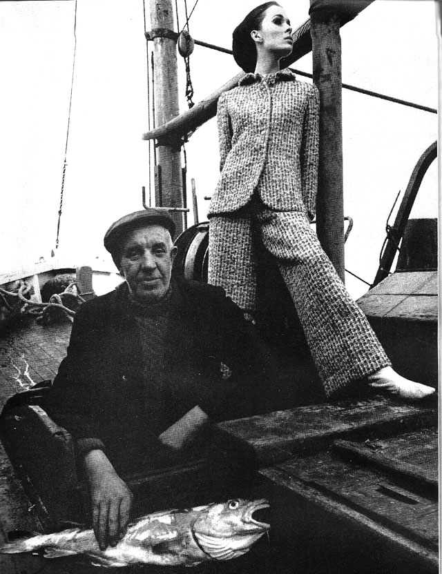 Harpers Bazaar August 1965 howth