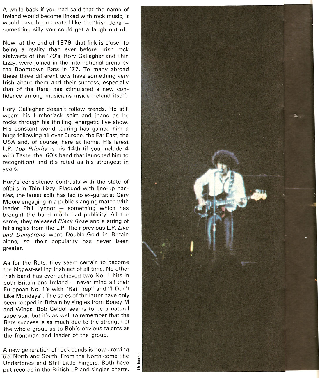 Ian Wilson youngline 1980 annual page 1