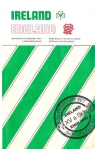Ireland V England Rugby Match Programme 1977