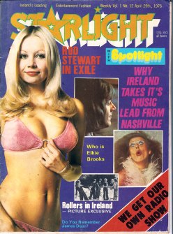 starlight magazine cover Ireland 1976