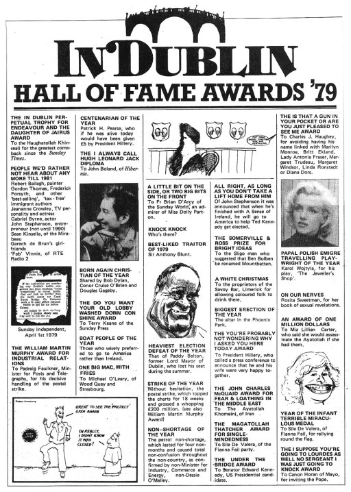 1979 hall of fame in dublin