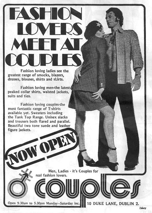 couples duke st dublin 1972