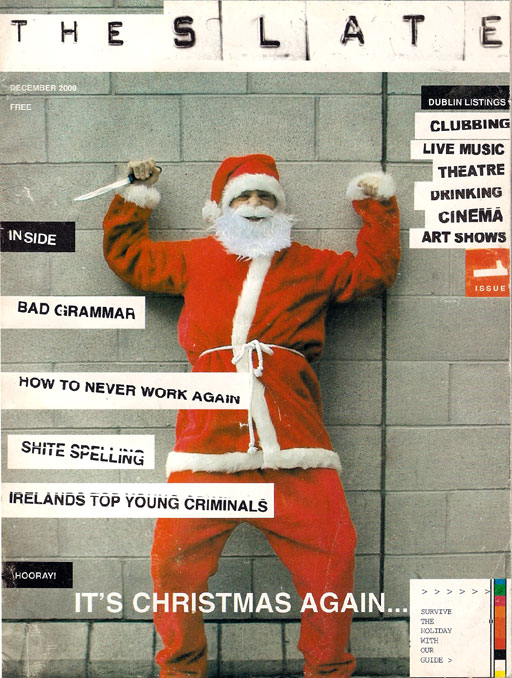slate issue 1 cover December 2000