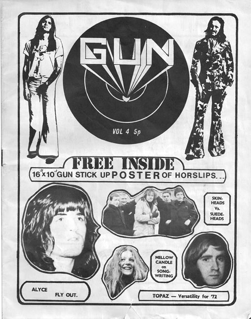 cover gun dublin pop prog 1972