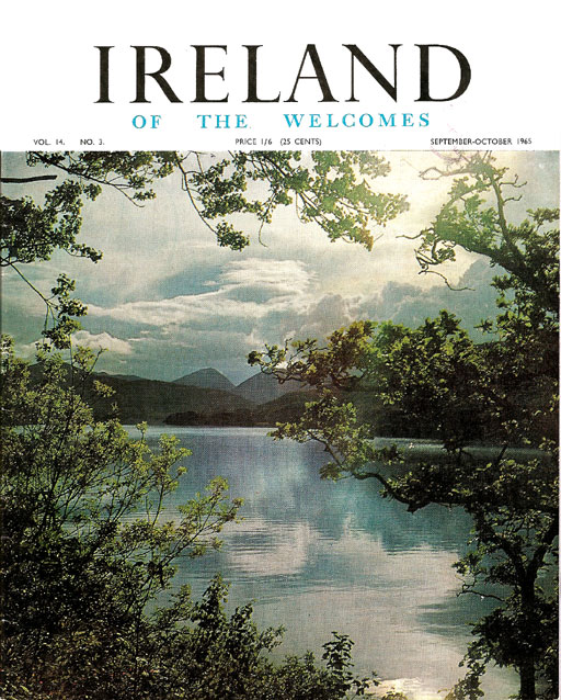 Bord Failte Ireland of the Welcomes 1965 cover