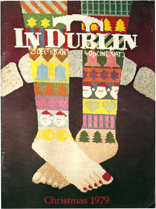in dublin christmas 1979 cover