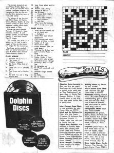 crossword dublin  dolphin discs mag gun 1972