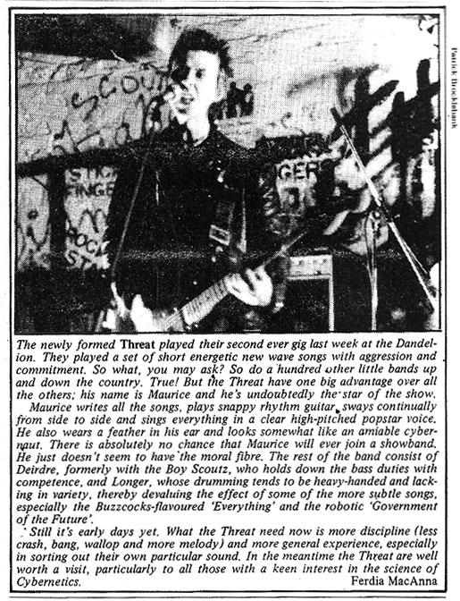 threat dandelion mkt dublin 1979